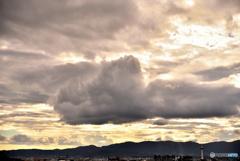 今年を象徴する雲