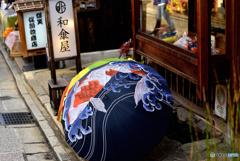 心くすぐられる和傘
