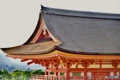 Kiyomizu-dera Temple~Settingsun~