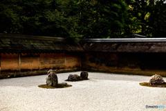 京都の秋 ~龍安寺 虎の子渡しの庭~