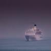 雨中の航海