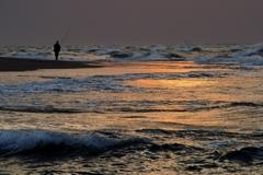 海にひとり