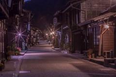 宿場町の夜
