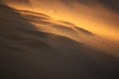 強風に飛ぶ砂塵