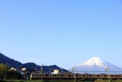 富士山&列車