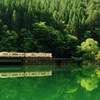 初夏のダム湖