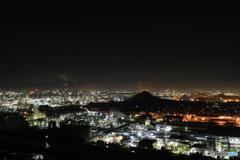 鷲羽山スカイラインからの眺め