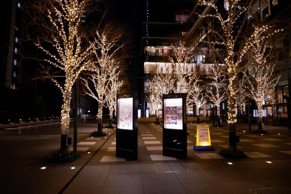 夜景@東京駅2