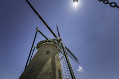 風車と青空^^¥