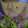 紫蘭の香りが漂う壁画^^¥