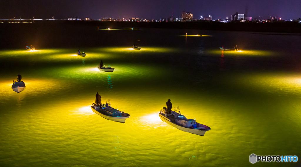 シラス漁船