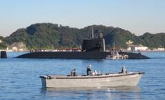 朝の潜水艦