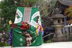 漢國神社奉納芸能