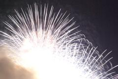 花火を望遠で撮ってみた