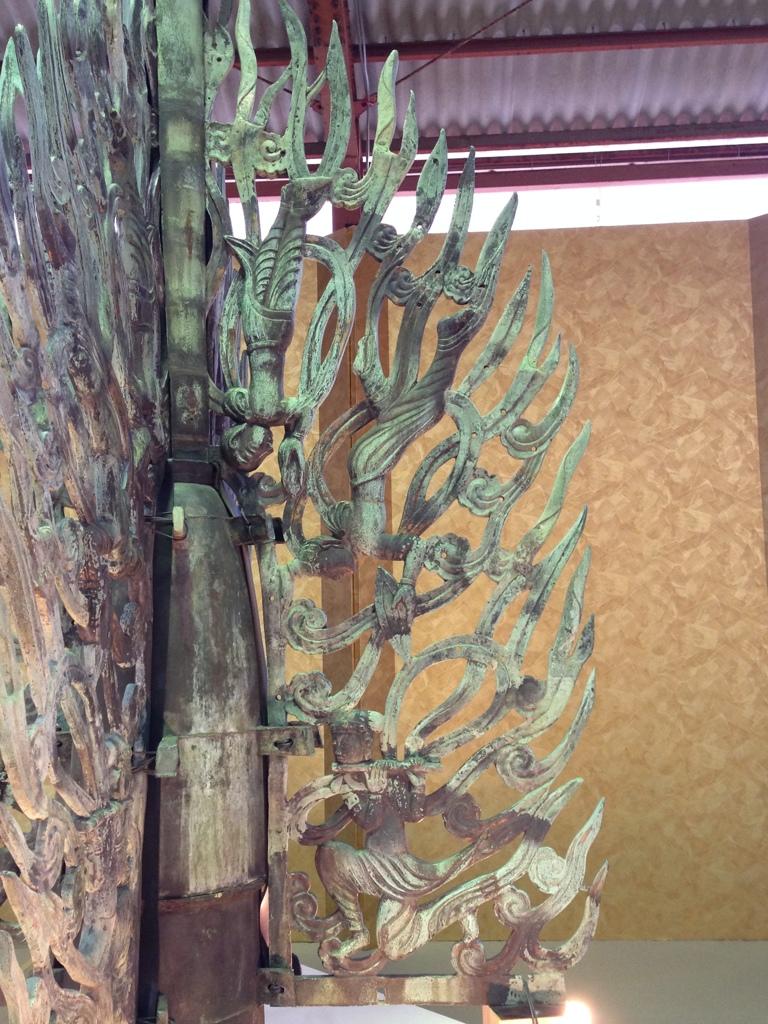 奈良薬師寺東塔の水煙