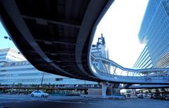 阿倍野歩道橋1