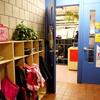 幼稚園の朝
