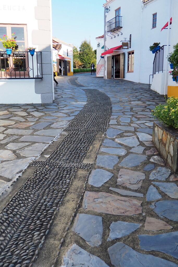スペイン村の街並み