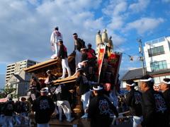 岸和田だんじり祭り 2