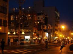 夜の尾道市街