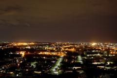 宜野湾方向の夜景