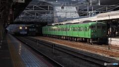 湖西線@京都駅2