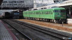 湖西線@京都駅1