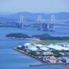 瀬戸大橋と2000系特急