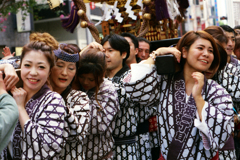 渋谷金王八幡宮例大祭 其の五・御神輿