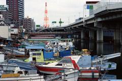 子安運河①・4-3 船溜まり