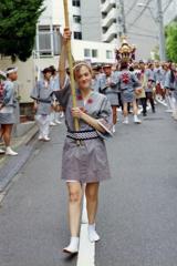 渋谷金王八幡宮例大祭 其の四・提灯持ち