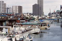子安運河①・4-4 船溜まり