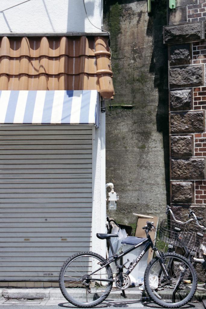 久しぶりに自転車の写真
