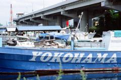 子安運河①・4-2 船