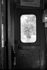 スハ42型客車・デッキのドア