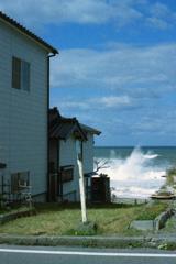 日本海・瀬波海岸の風景4-4