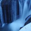 青い時間の滝