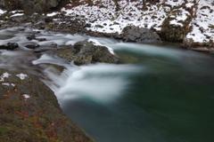 支笏湖への流れ