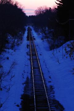 廃線になる線路