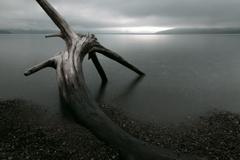 静かな支笏湖