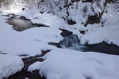 湿り雪の朝
