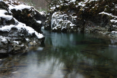イワナの棲む川