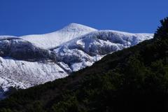 冬へ向う山