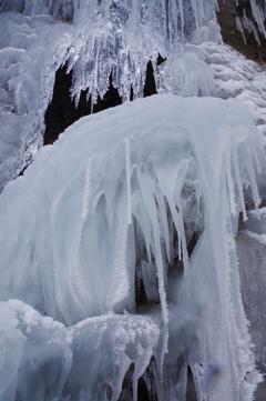凍り付く氷