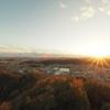 夕暮れの播州平野