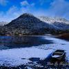 広沢の池雪景
