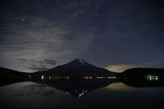 山中湖夜景