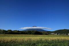富士の麓にも実りの秋