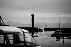 富山湾越しの北アルプス 其の四