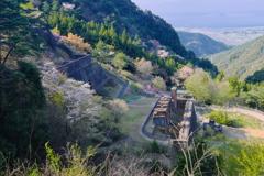 別子銅山の春